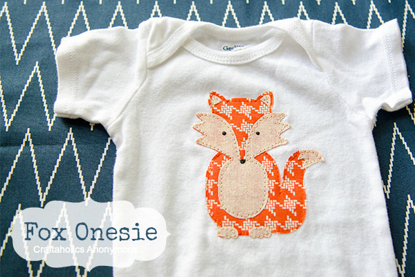 baby fox onesie