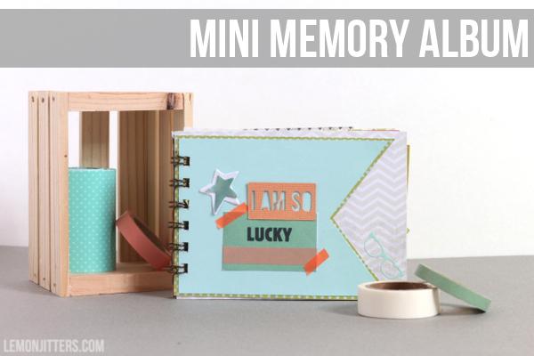 mini memory album