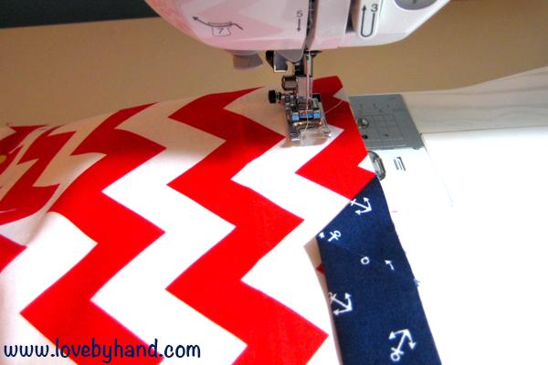 sew a pillow