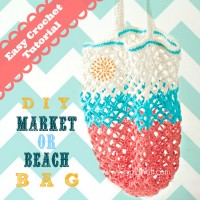 How to Crochet a Bag: Market Tote