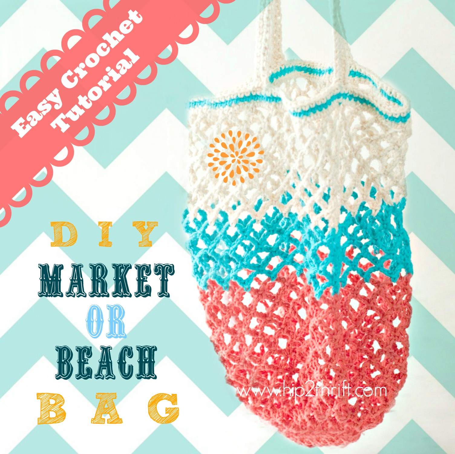 Craftaholics Anonymous How To Crochet A Bag Market Tote