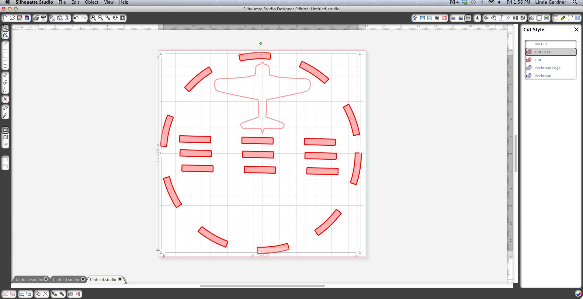 Silhouette designer software