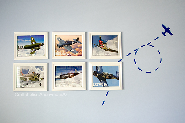 airplane wall