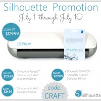 Silhouette Portrait GIVEAWAY + Designer Software Discount
