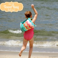 How to Make a Beach Towel Backpack