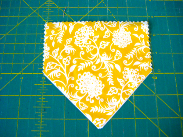 Finished Cut Fabric Piece