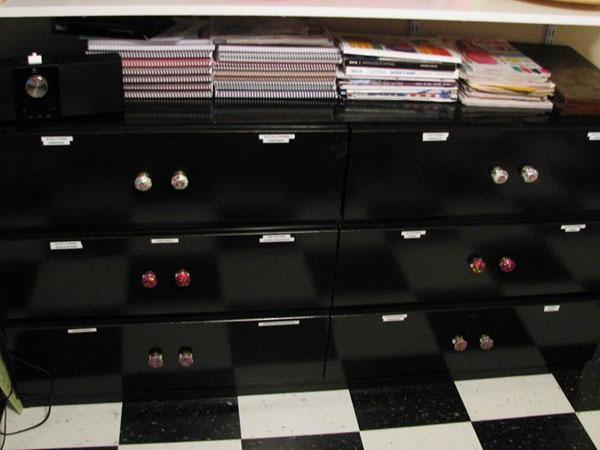 Paper Storage Dresser