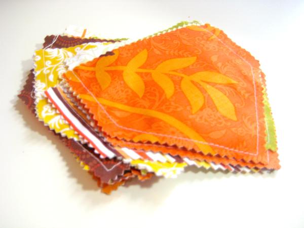fabric bunting tutorial