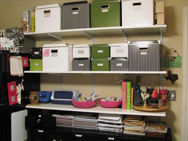 Storage Shelf Wall