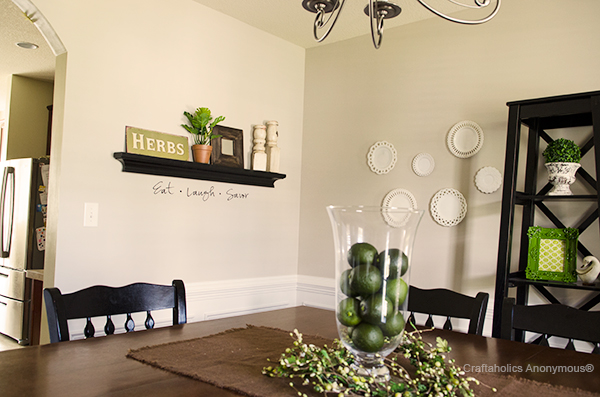 Dining Room Vinyl Quote Craftaholics AnonymousR