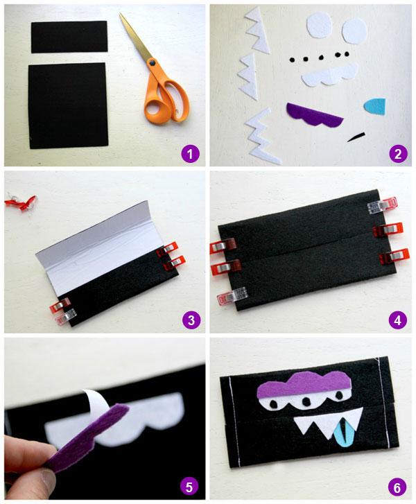 tissue holder tutorial