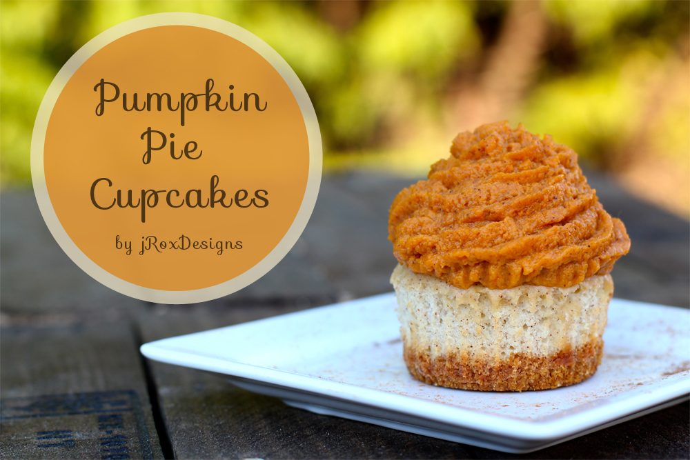 pumpkin pie cupcake