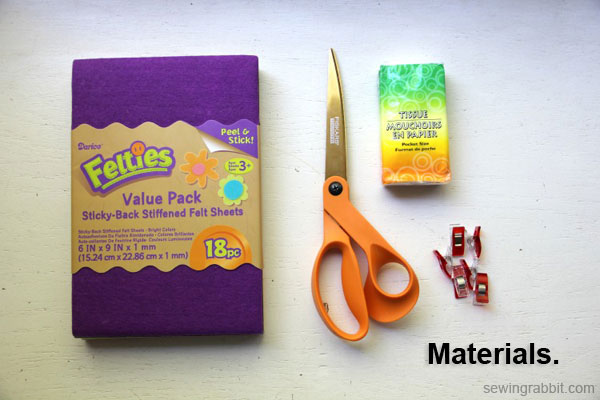 how to make a tissue holder