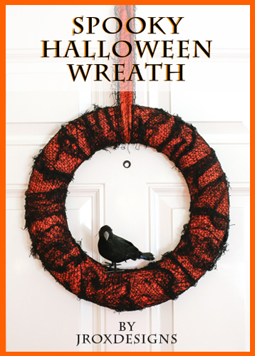 Halloween Wreath Tutorial