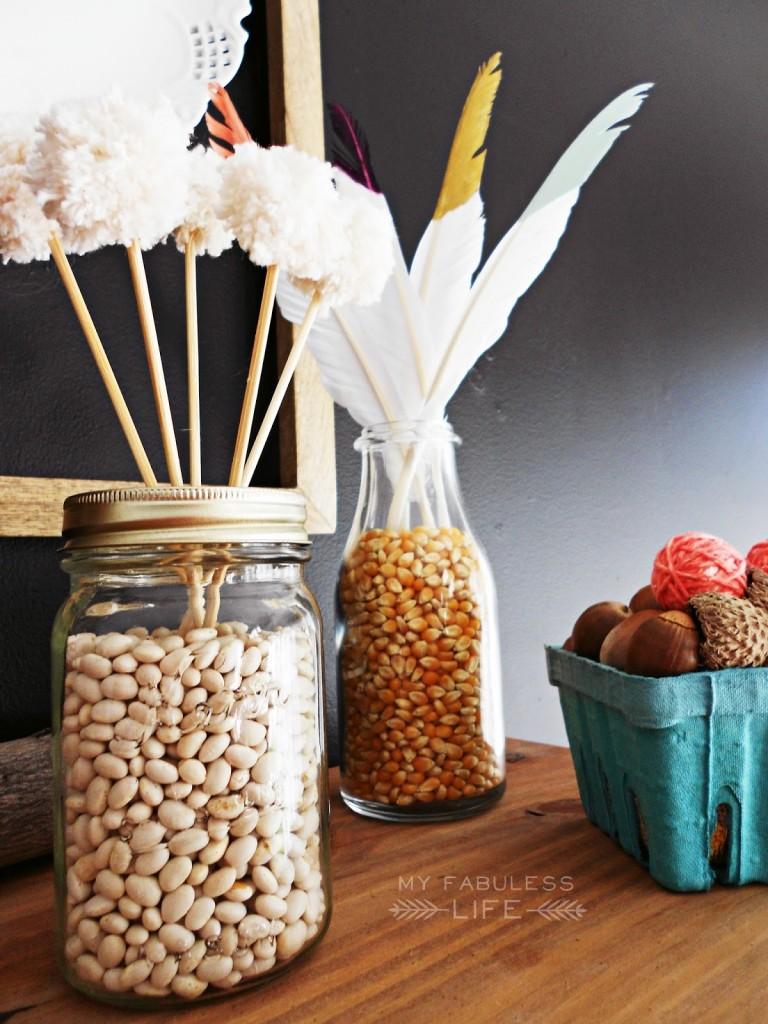 food makes great vase filler!