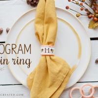 Fall Acorn Napkin Ring Tutorial