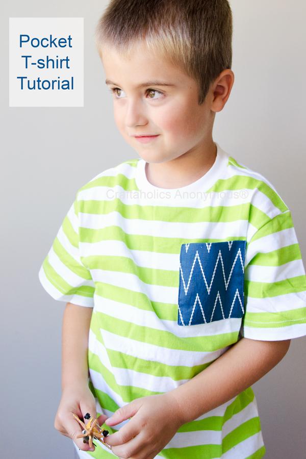 pocket t-shirt tutorial