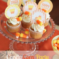 Candy Corn Party Printables!