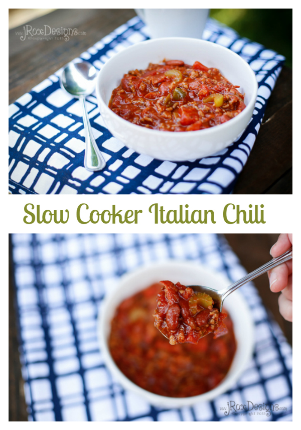 Italian chili recipe. This is the best chili ever