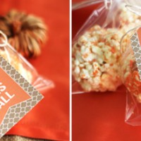 Fall Printable: Popcorn Ball Tags