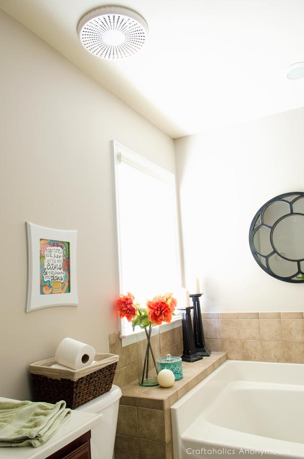 Bluetooth Bath Fan Review