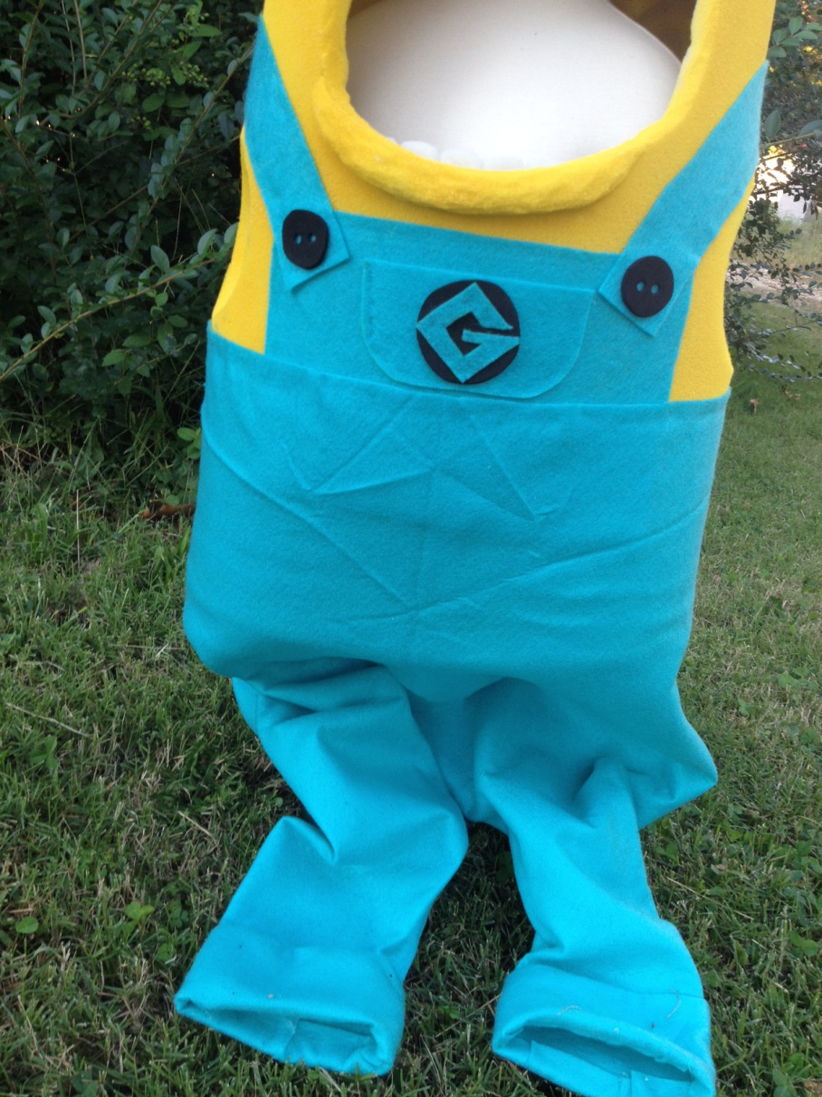 minion costume how to