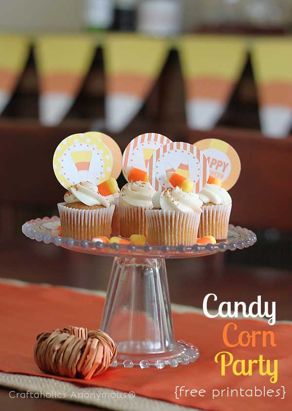 candy corn party printables