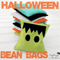 How to make Bean Bags + Halloween Games