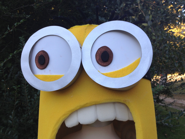 minion halloween costume tutorial