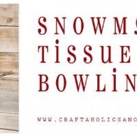 DIY Snowman Bowling Game