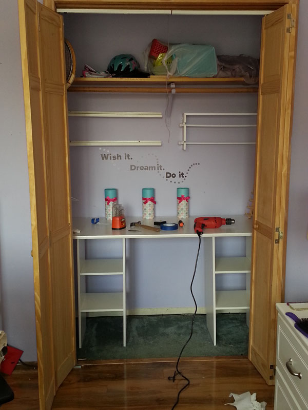 crafting spaces for kids