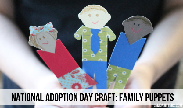 national adoption day craft