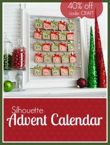 silhouette advent calendar discount