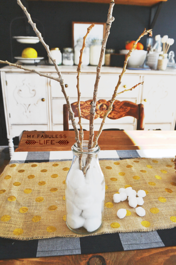 diy snowball trees