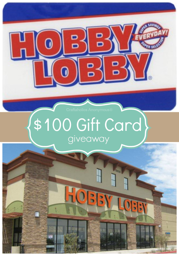 hobby lobby giveaway
