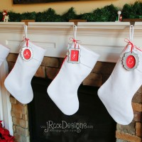 Free Christmas Stocking Pattern and Tutorial