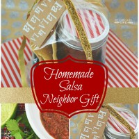 Easy Neighbor Gift – Homemade Salsa