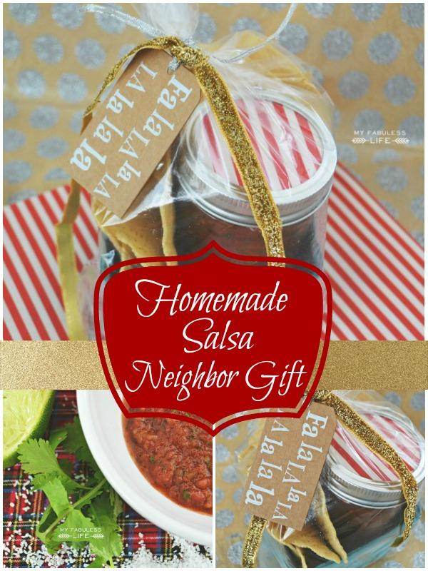Easy Neighbor Gift - Homemade Salsa