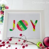 Simple Joy Sign Tutorial #ScotchEXP