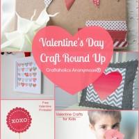 Valentine's Day Crafts Round up