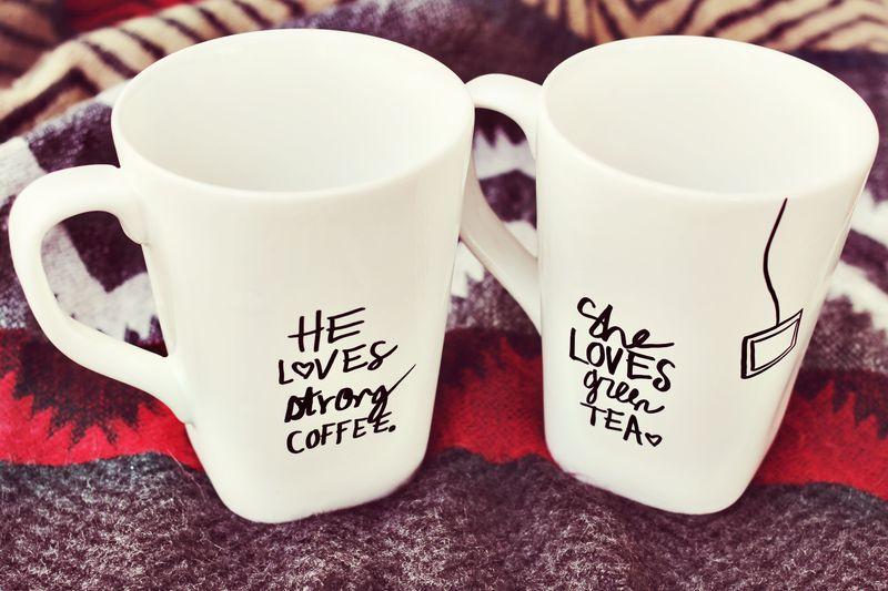 Coffee Mug Craft Sharpie