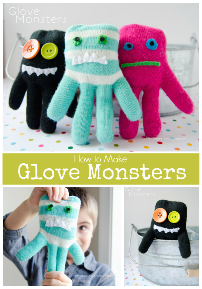 glove monsters how to make