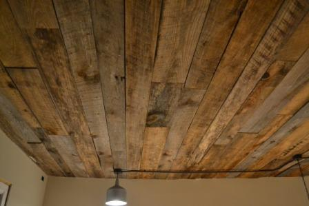 Wood Ceiling Woodtrac System Custom Drop