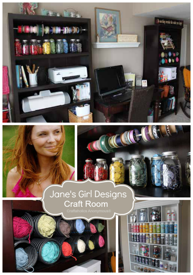 jane's girl designs craft room