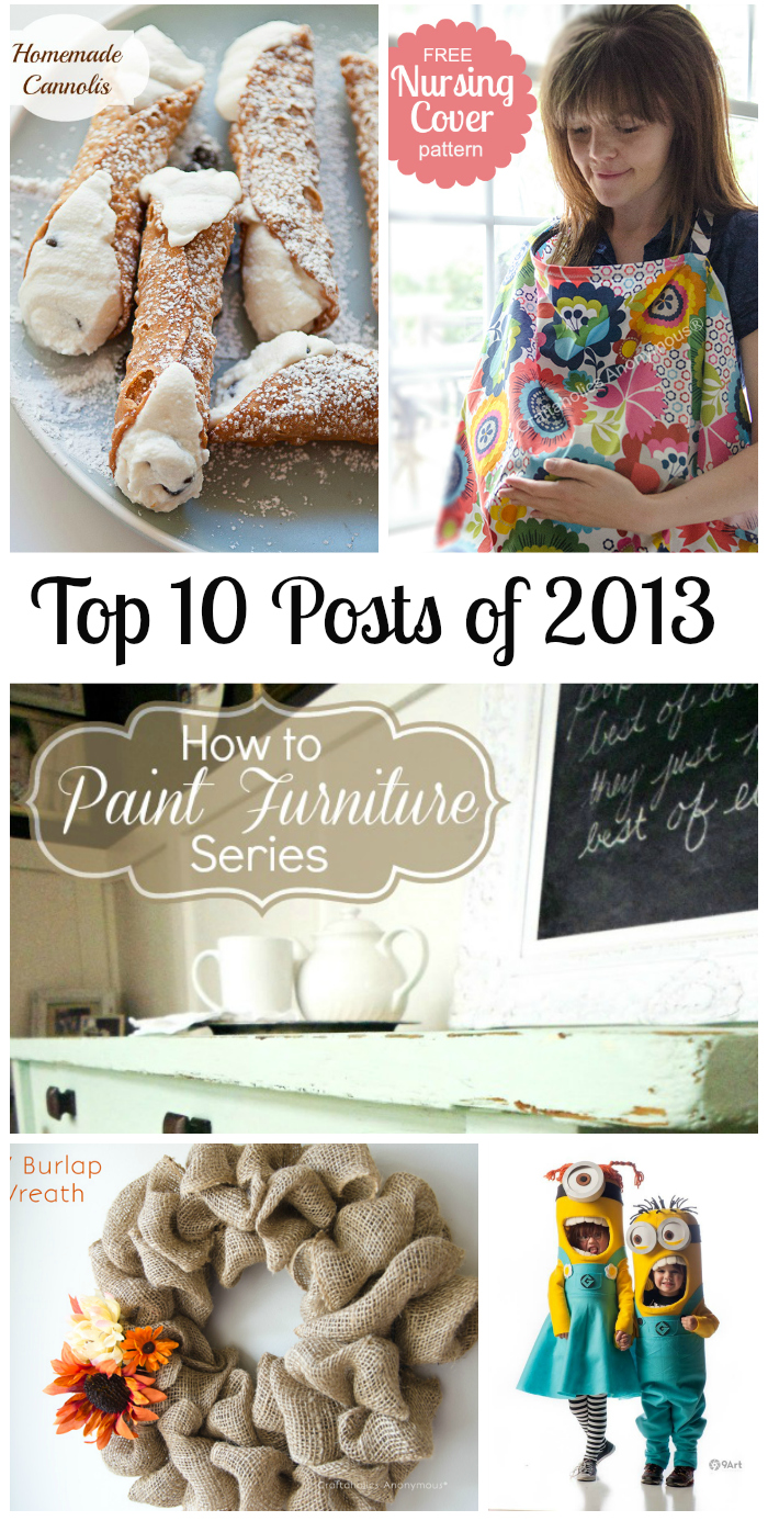Top 10 posts on Craftaholics Anonymous
