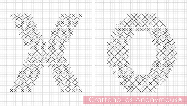Craftaholics Anonymous Diy Crochet And Cross Stitch Valentine Pillows