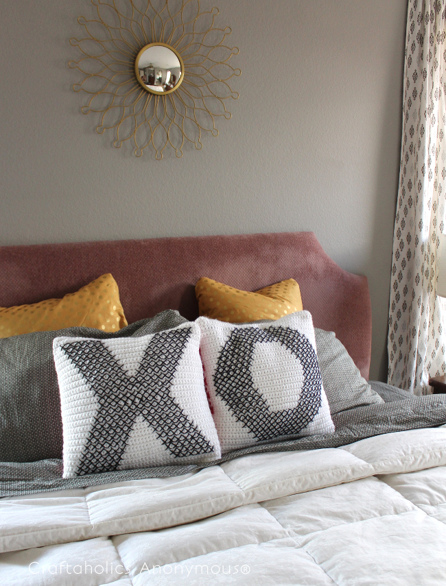 DIY Valentine Pillows