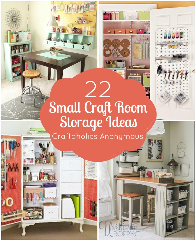 DIY Craft Room Storage Ideas