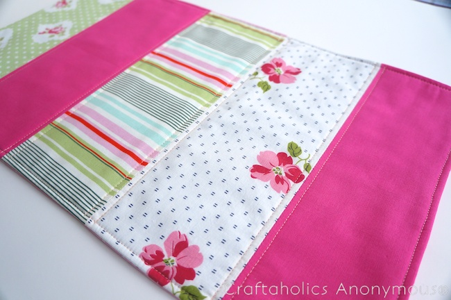 how to make a doll quilt