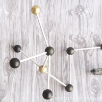Modern Decor: DIY Molecule Model